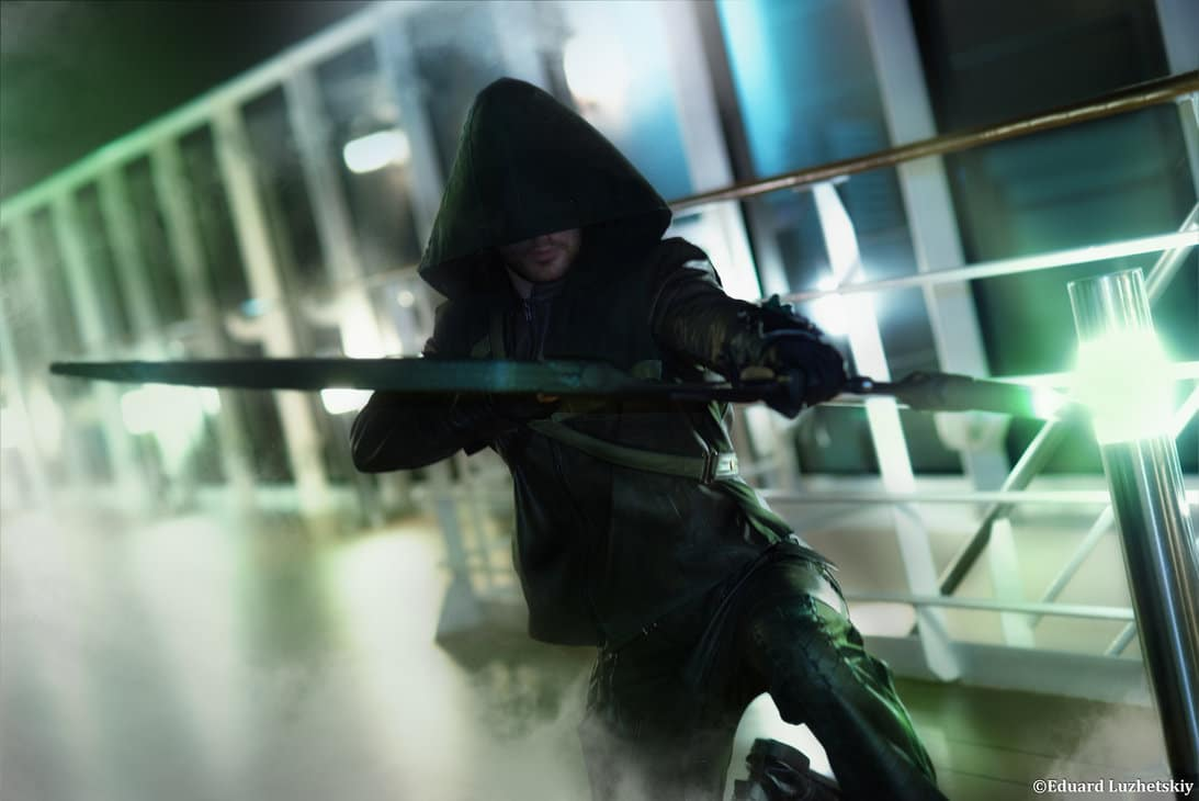 image of Leon Chiro as the Arrow | TheGeekPages.com