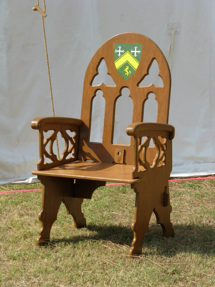 image of Custom chair by Wild Hare Woodworks | TheGeekPages.com