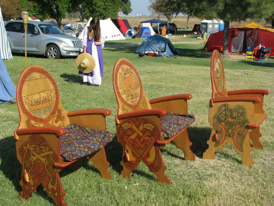 image of Custom chairs by Wild Hare Woodworks | TheGeekPages.com