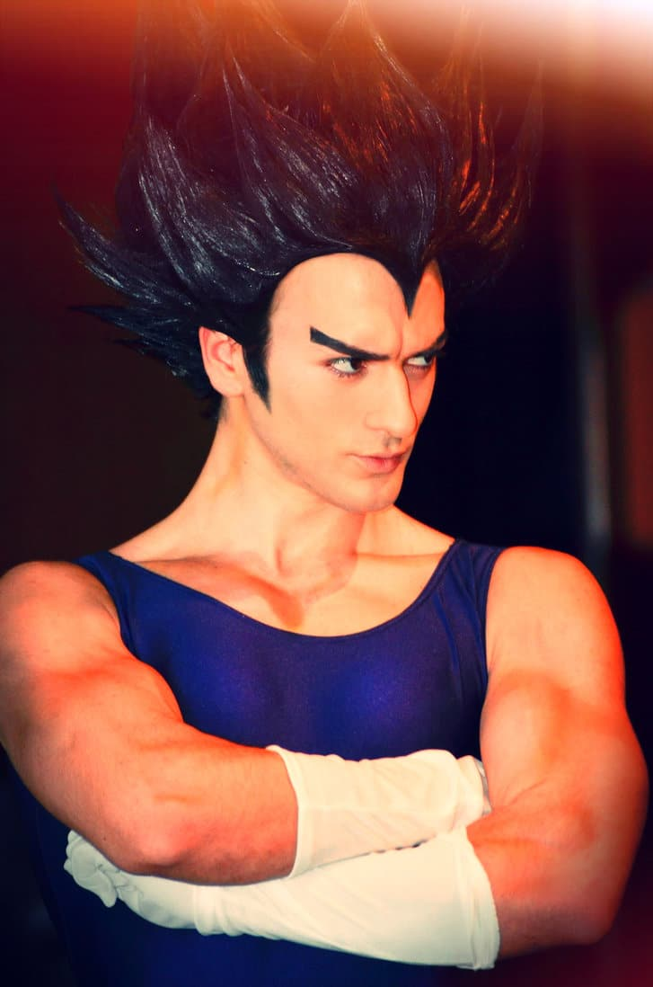 image of Leon Chiro as Vegeta from Dragon Ball Z | TheGeekPages.com