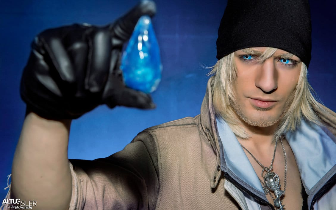 image of Snow Villiers from Final Fantasy XIII cosplay by Leon Chiro | TheGeekPages.com