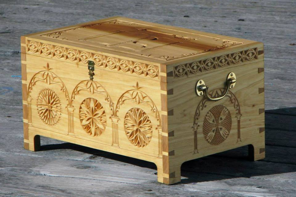 image of Feast gear box by Wild Hare Woodworks   TheGeekPages.com
