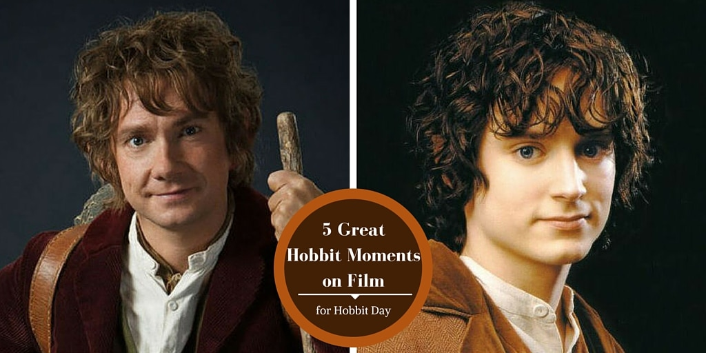 TheGeekPages.com 5 Great Hobbit Moments on Film for Hobbit Day