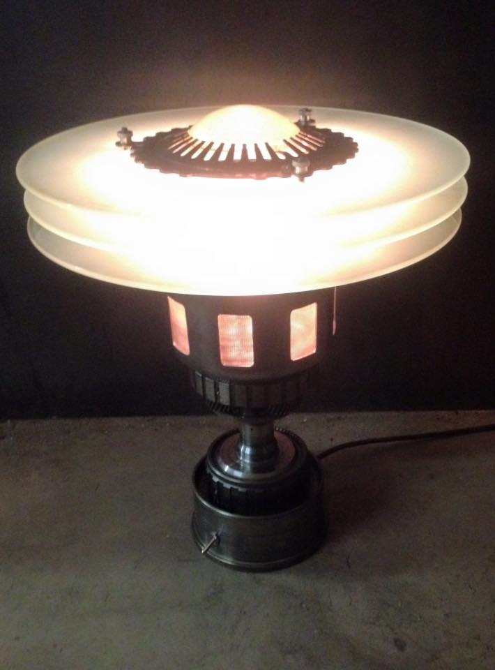 image of Lamp by The Machine Brothers | TheGeekPages.com
