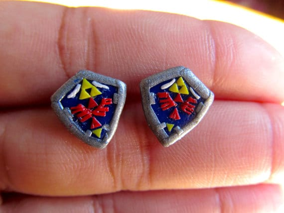 image of Legend of Zelda earrings by Geekout Props | TheGeekPages.com