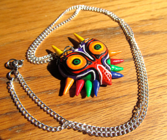 image of Majora's Mask Necklace by Geekout Props | TheGeekPages.com