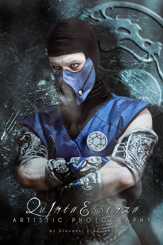image of Leon Chiro as Sub Zero from Mortak Kombat 9 | TheGeekPages.com