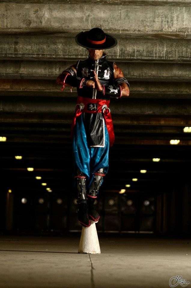 image of Leon Chiro as Kung Lao from Mortal Kombat 9 | TheGeekPages.com
