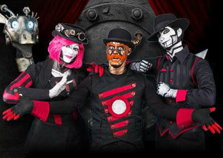 image of Steam Powered Giraffe | TheGeekPages.com