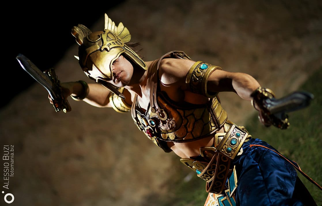 image of Kilik from Soul Calibur 5 cosplay by Leon Chiro | TheGeekPages.com