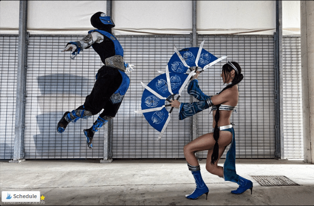 image of Leon Chiro as Sub Zero action shot | TheGeekPages.com