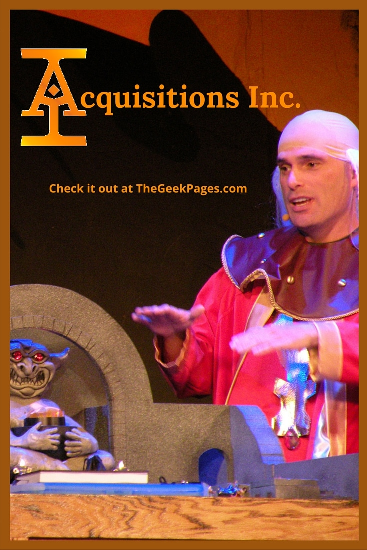 Featured Listing: Acquisitions Inc. | TheGeekPages.com
