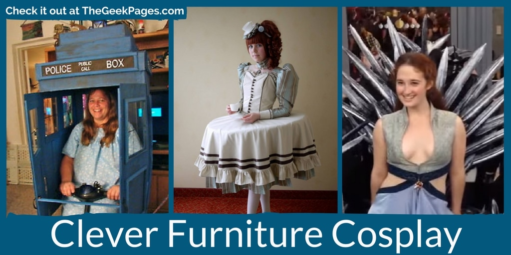 image of Clever Furniture Cosplay | TheGeekPages.com