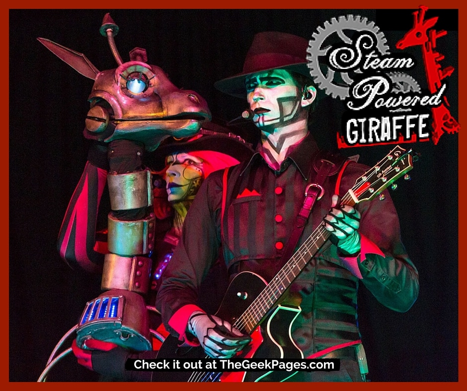 Featured Listing: Steam Powered Giraffe | TheGeekPages.com
