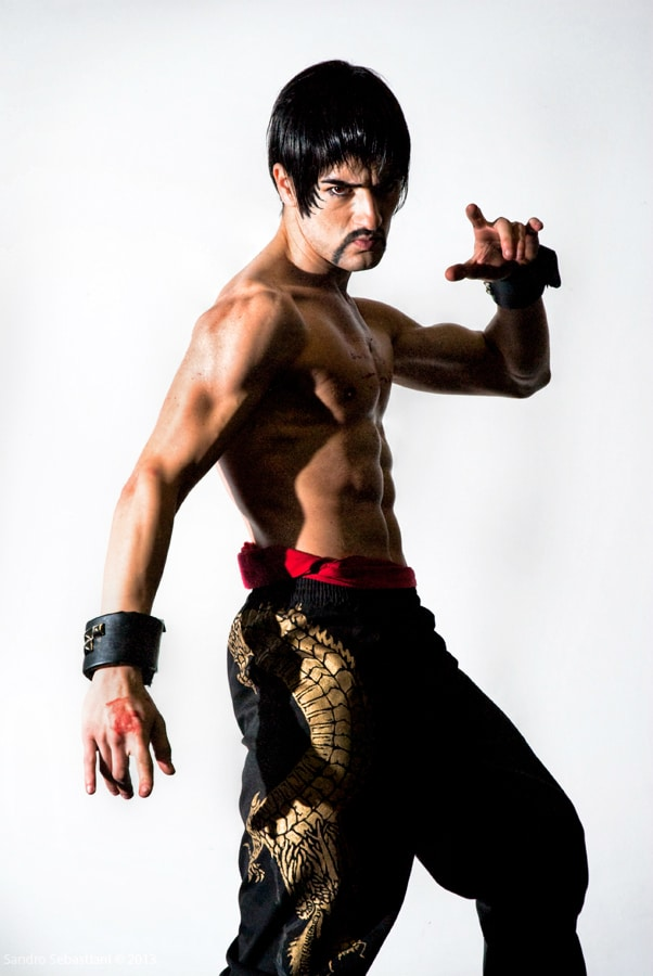 image of Leon as Marshall Law from Tekken | TheGeekPages.com