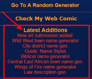 Featured Listing: Fantasy Name Generators » The Geek Pages