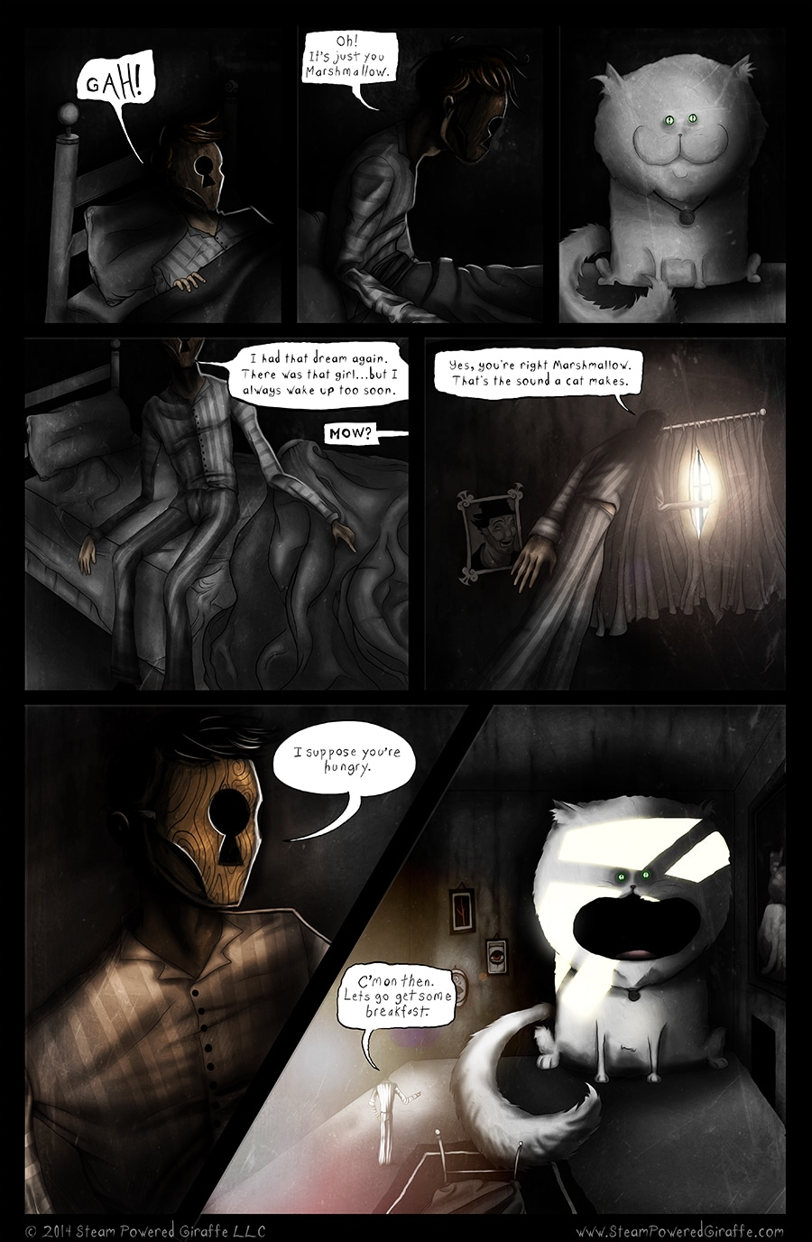 image of Steam Powered Giraffe Comic | TheGeekPages.com